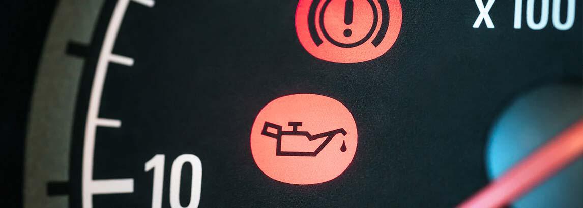فشار پایین روغن موتور